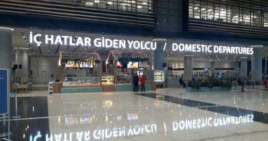 İstanbul Havalimanı İç Hatlar Terminali, İstanbul Airport