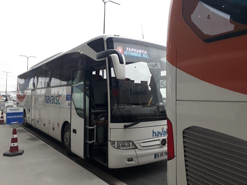 Yenikapı Havaist Otobüsleri, İstanbul 3. Havalimanı Ulaşım