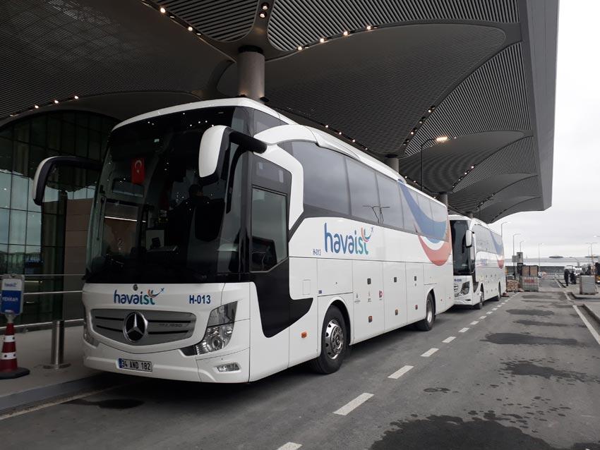 istanbul havalimanı havaist ulaşım, istanbul havalimanına nasıl gidilir?