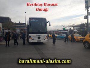beşiktaş havaist istanbul havalimanı otobüs durağı