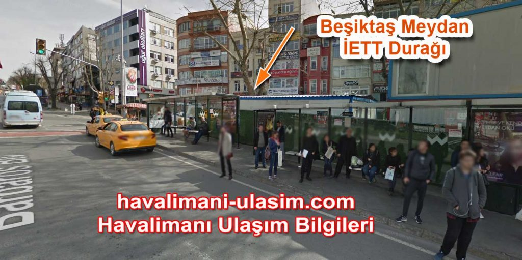 Beşiktaş Meydan Havaist otobüs durağı