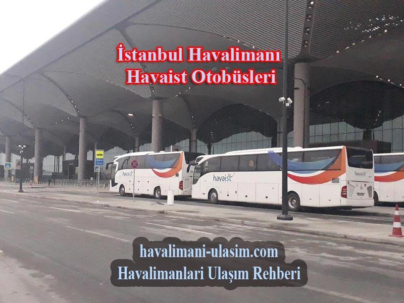 İstanbul Havalimanı Havaist Hatları ve Havaist Durakları