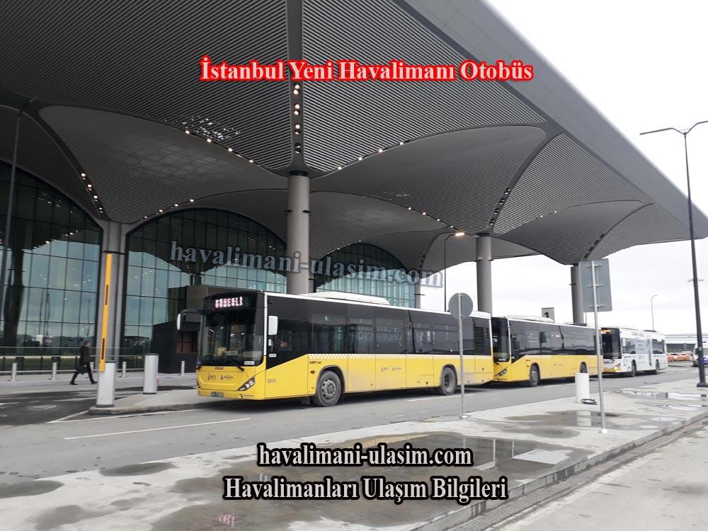 İstanbul Yeni Havalimanı Otobüs