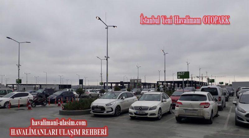 İstanbul Yeni Havalimanı Otopark