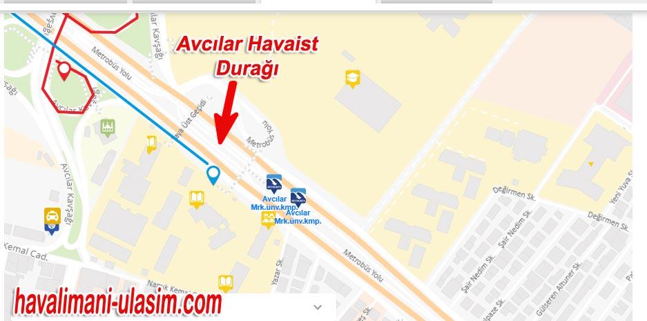 Avcılar Havaist Durağı, İstanbul Havalimanı Ulaşım