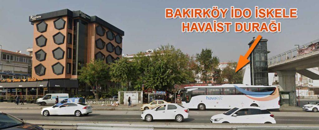 bakırköy ido iskelesi havaist durağı