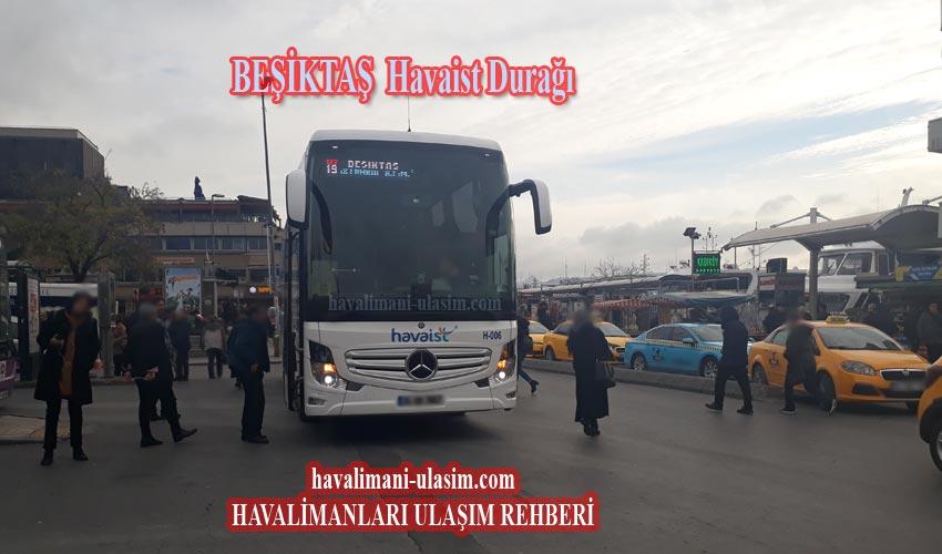 Beşiktaş Havasit Otobüsleri Durağı