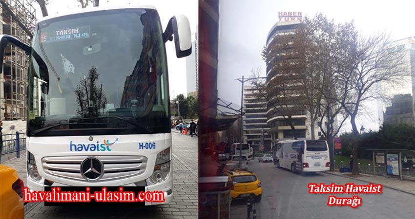 Taksim Havaist Durağı, İstanbul Havaalanı Ulaşım