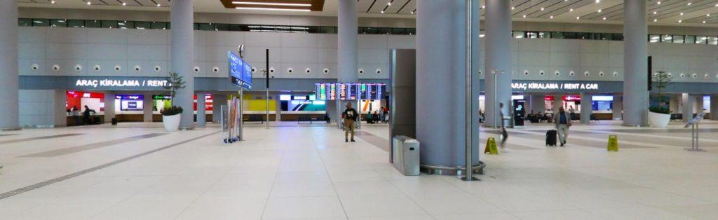 İstanbul Yeni Havalimanıı Rent A Car Ofisleri