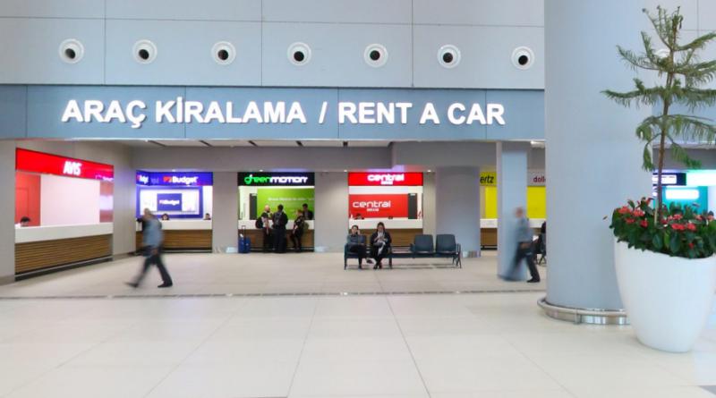 İstanbul Yeni Havalimanı Oto Kiralama Şirketleri Ofisleri