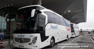 İstanbul Yeni Havalimanı Havaist Havaalanı Otobüsleri