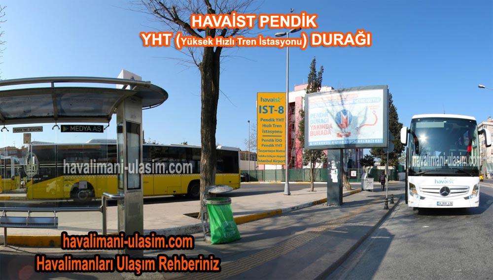 Pendik YHT (Yüksek Hızlı Tren) İstasyonu Havaist Durağı