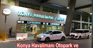Konya Havalimanı Otopark ve Konya Havalimanı Otopark Ücretleri