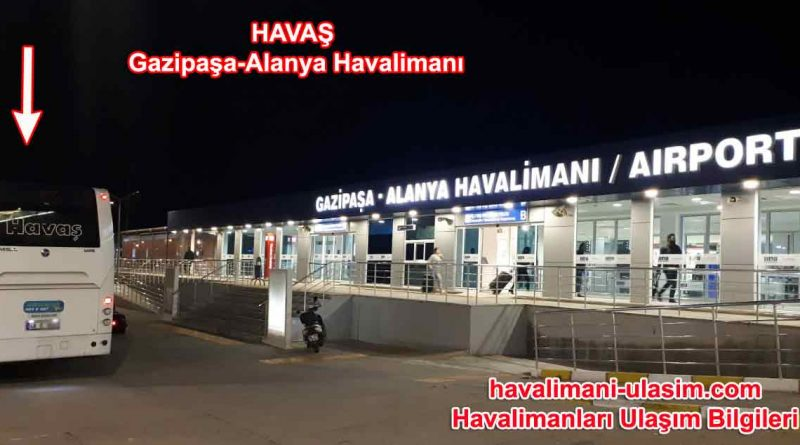Gazipaşa-Alanya Havalimanı Havaş