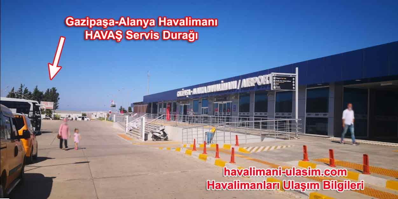 Gazipaşa-Alanya Havalimanı Havaş Durağı