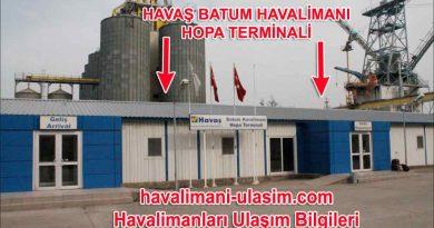 Havaş Batum Havalimanı Hopa Terminali