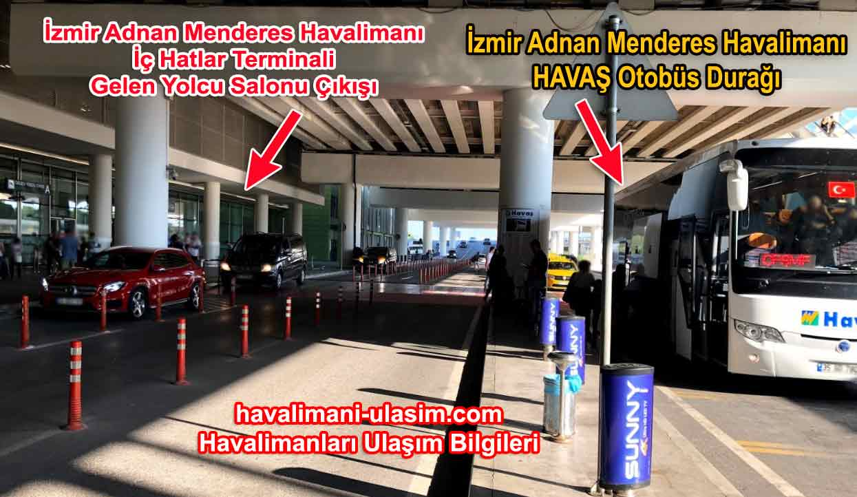 izmir Adnan Menderes Havalimanı Havaş Durağı
