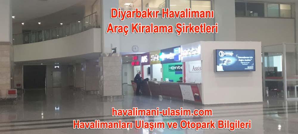 Diyarbakır Havalimanı Araç Kiralama Şirketleri