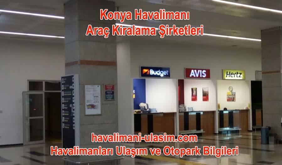 Konya Havalimanı Araç Kiralama Şirketleri