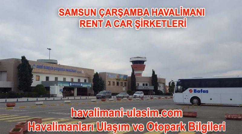 Samsun Çarşamba Havalimanı Rent A Car Şirketleri